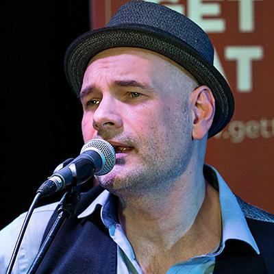 Jens Filser von der Band Get the Cat